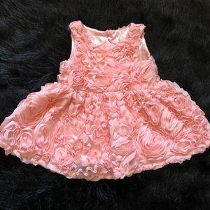 Cat & Jack Pink Roses Dress